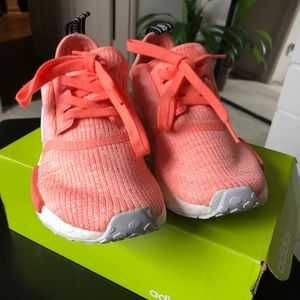 Adidas Coral Pink NMDs